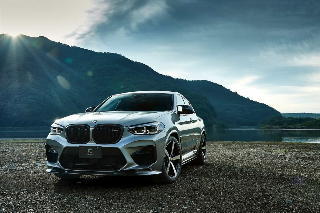 BMW X4M Body Kit from 3D Design