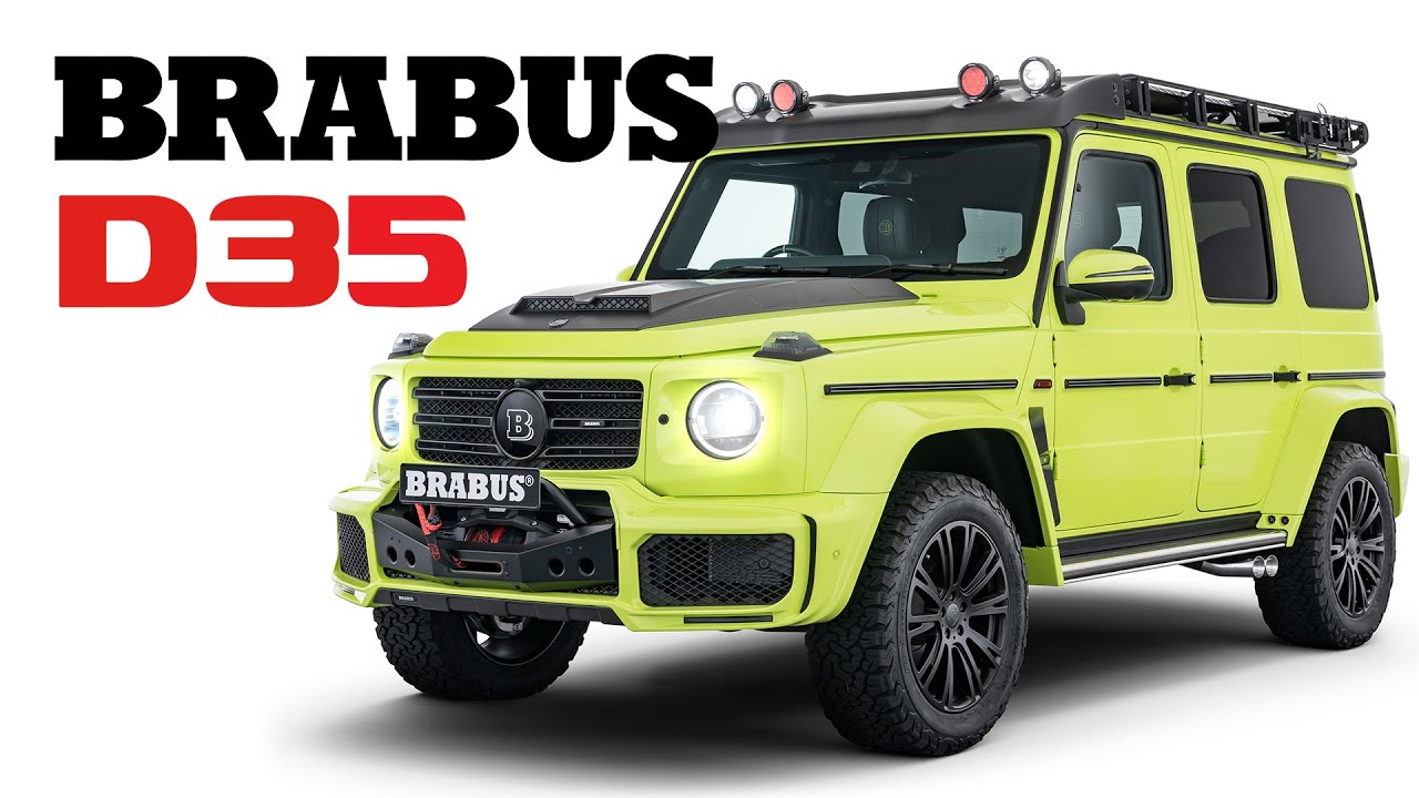 Brabus Adventure Package for the Mercedes G-Class