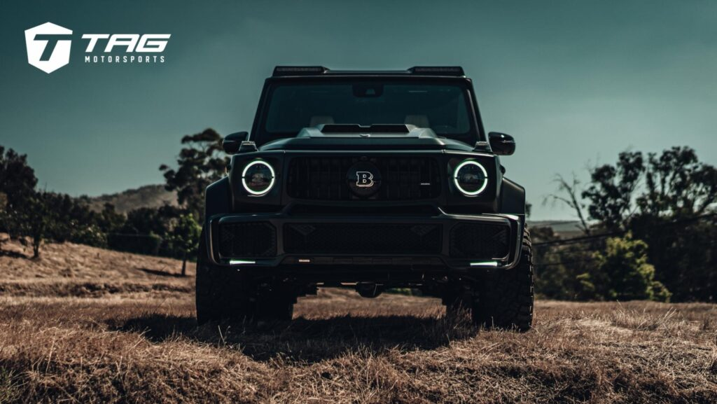 Brabus Mercedes G63 Build By TAG Motorsports Featuring ANRKY Wheels