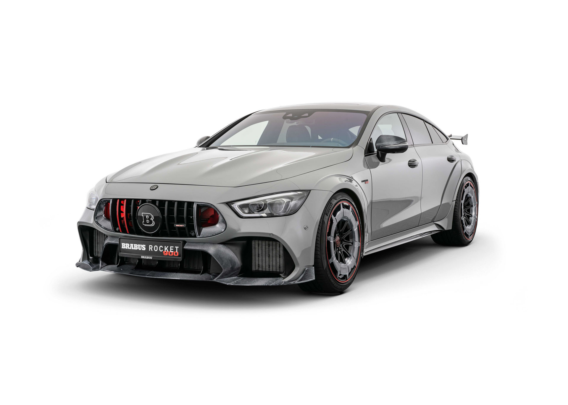 Brabus Mercedes GT 63 S With Wild Package