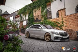 Brabus Mercedes S63 Looks Sensational in Vossen Wheels