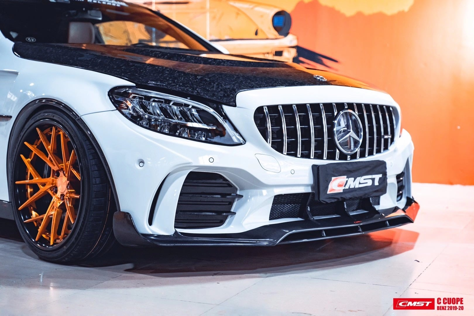 Cmst Releases The Mercedes Amg C43 Coupe Wide Body Kit Maxtuncars