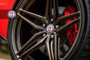 Chevrolet C8 Corvette on HRE Wheels