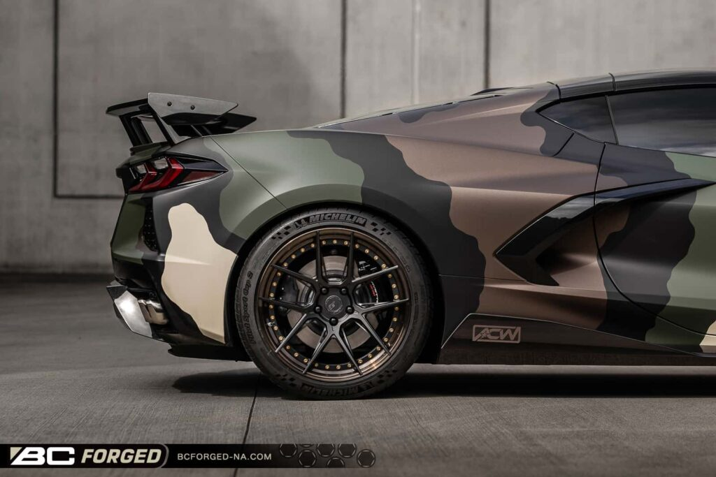 Chevrolet Corvette C8 Z51 on BC Forged Wheels