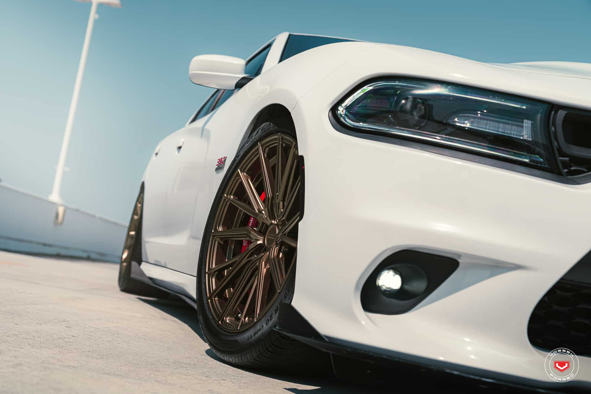 Dodge Charger on Vossen Hybrid Forged Wheels