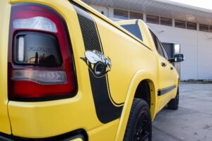 Dodge Ram Rumble Bee Laramie by JD Customs