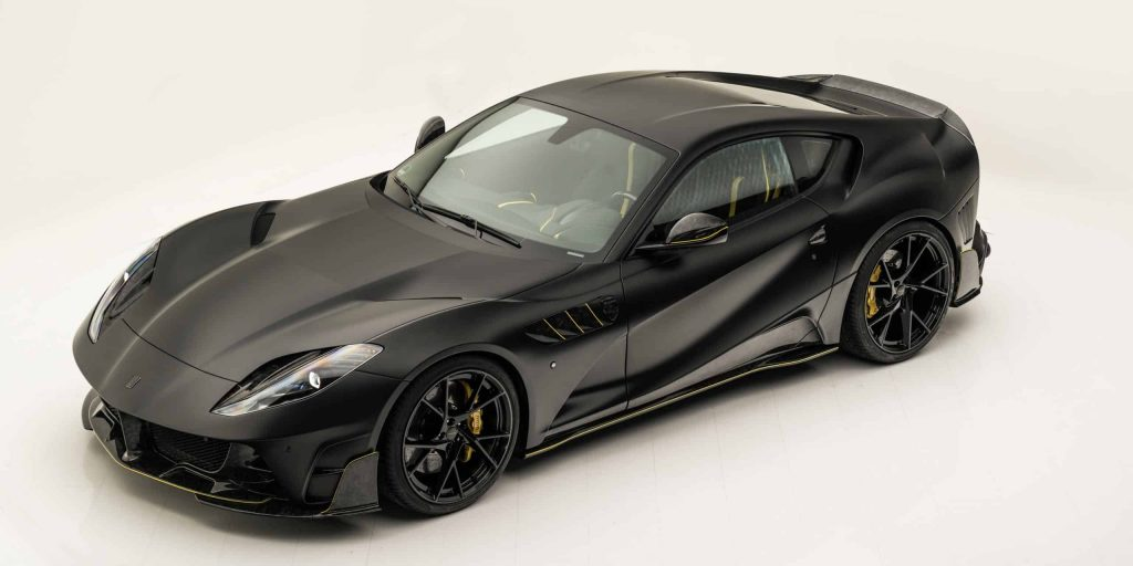 Ferrari 812 Superfast black - MANSORY