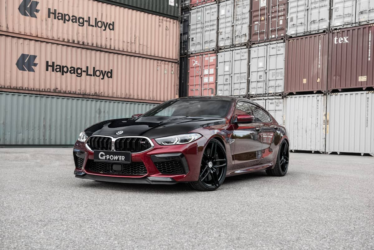 Bmw M8 performance upgrades G-POWER
