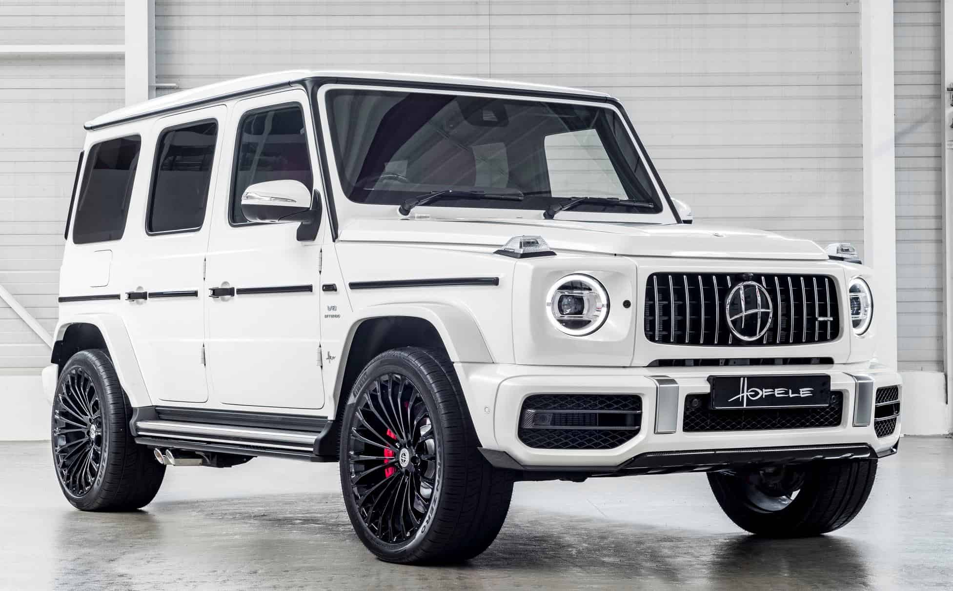Hofele-Design transforms the Mercedes G63
