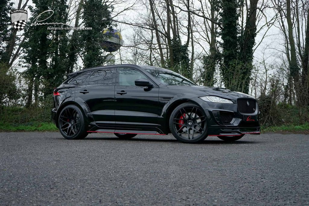 Jaguar F-PACE SVR LUMMA CLR Body Kit