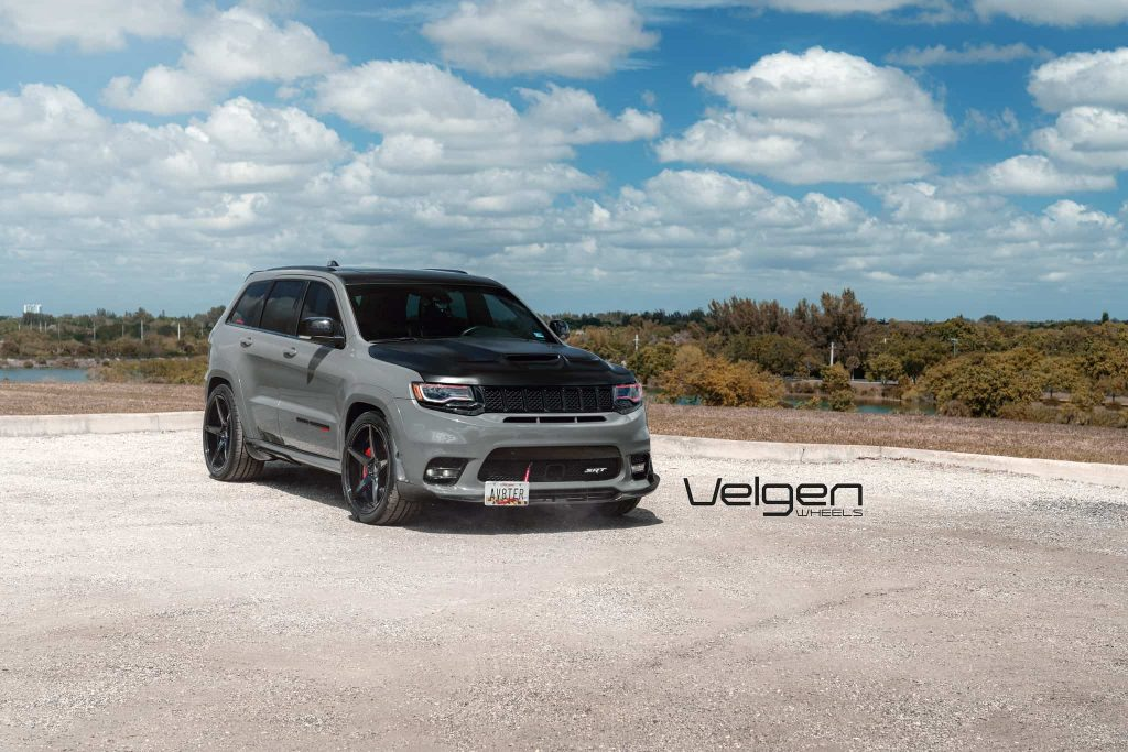 Jeep Grand Cherokee SRT on Velgen Wheels