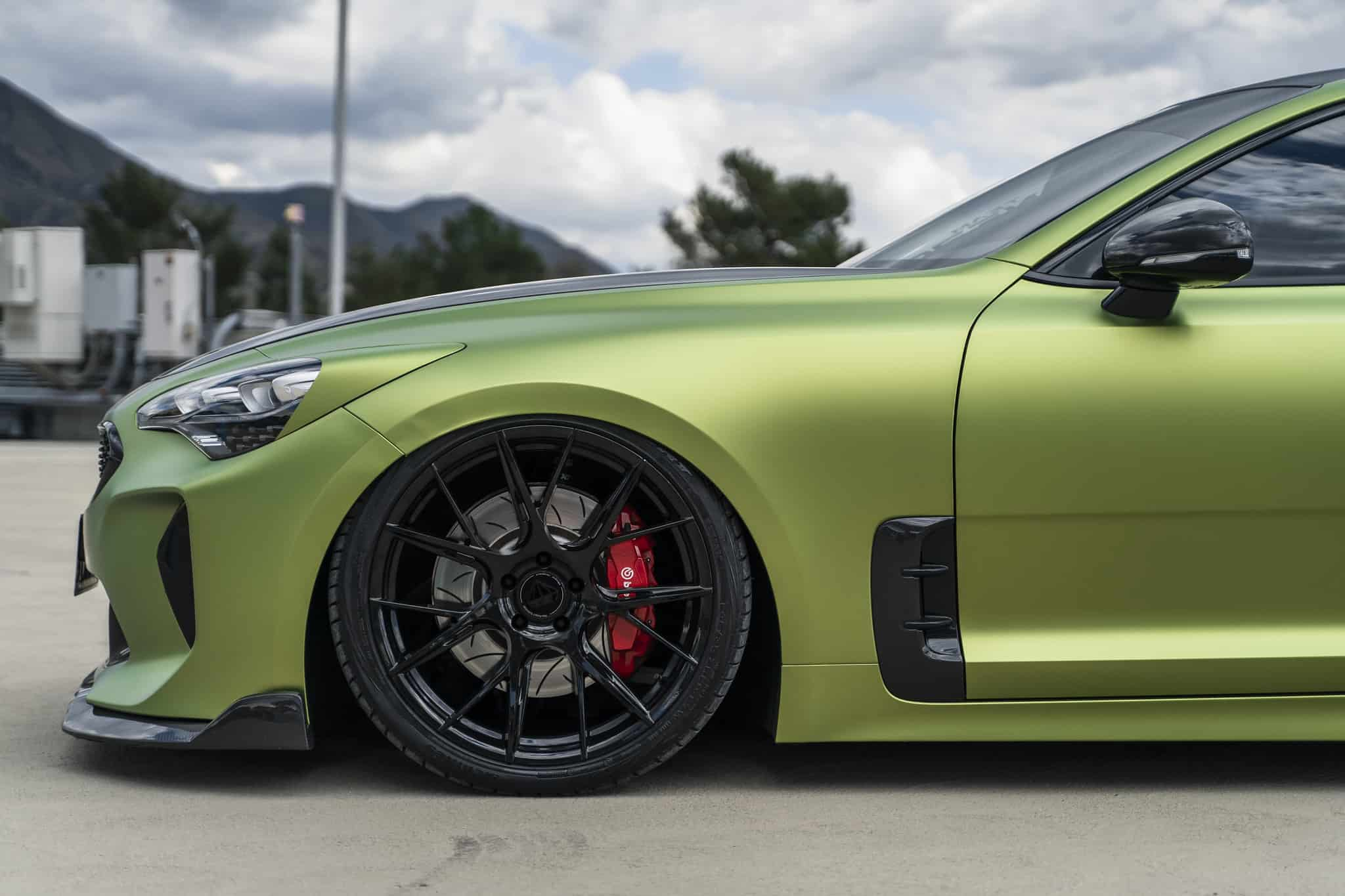 Kia Stinger on Blaque Diamond Wheels