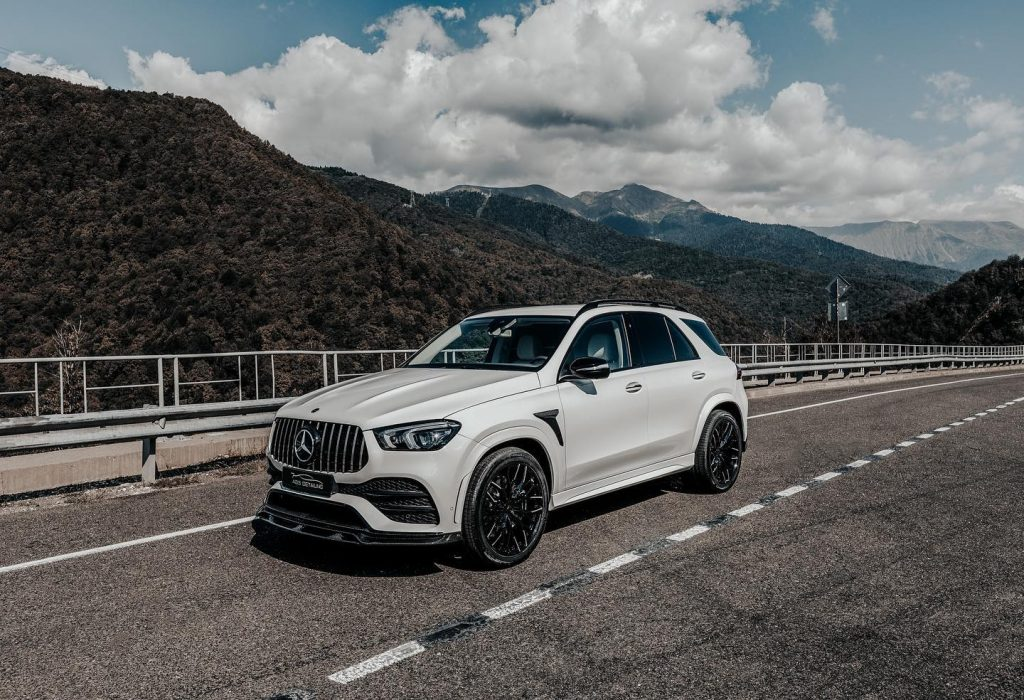 LARTE Design showed tuning kit for Mercedes-Benz GLE