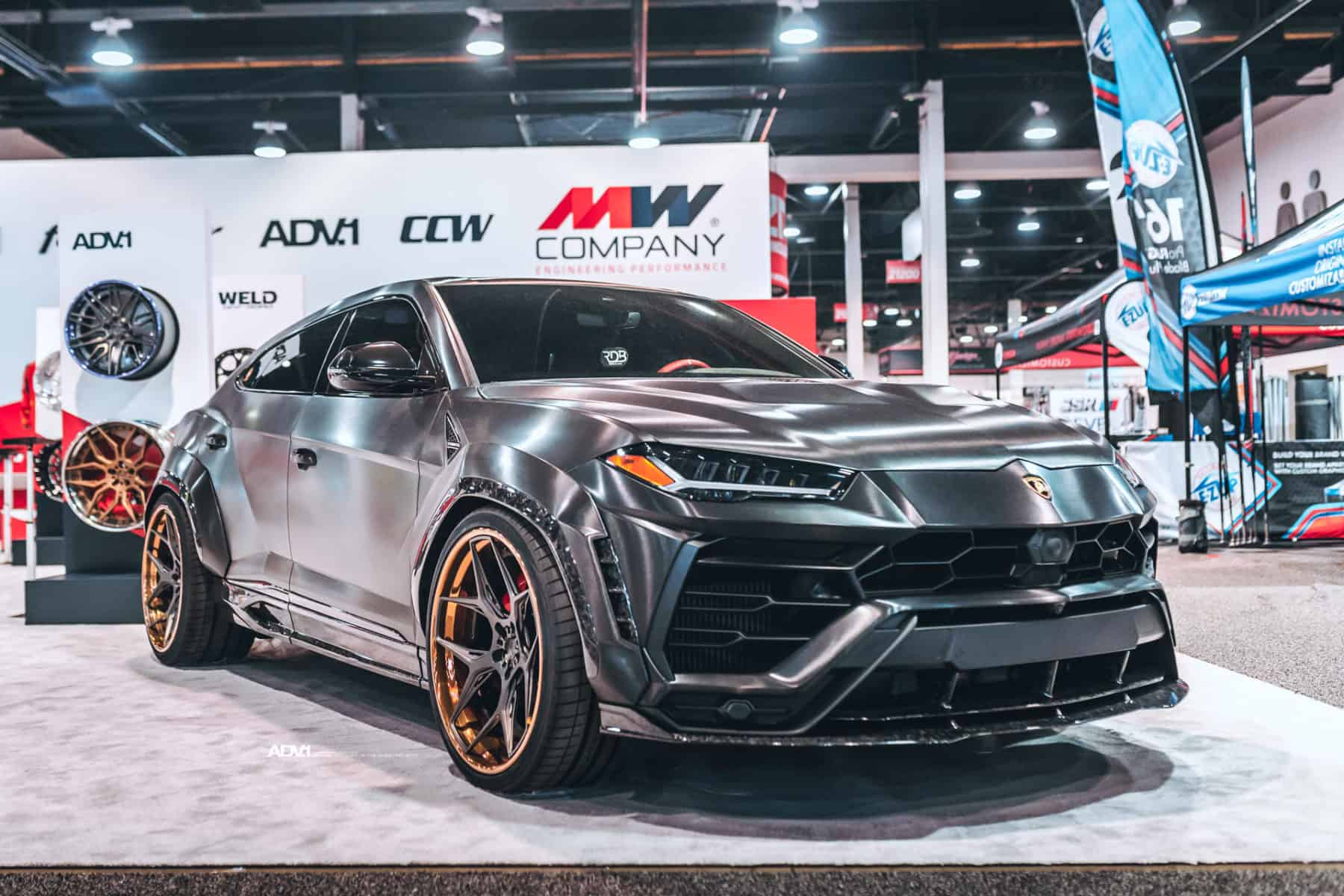 Lamborghini Urus 1016 Industries Widebody & ADV.1 Wheels