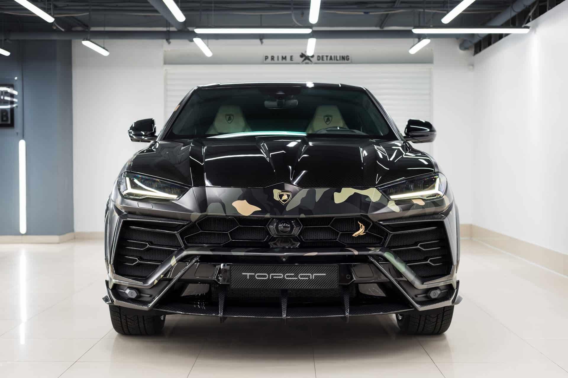 Lamborghini Urus Camouflage TopCar Design