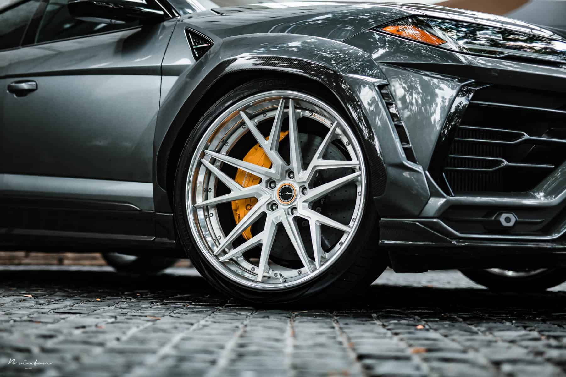 Lamborghini Urus Gets Brixton Forged Wheels And 1016 Widebody