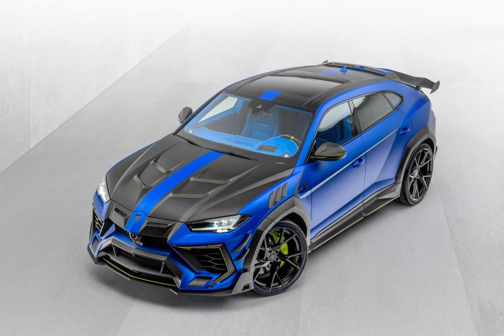 Lamborghini Urus Mansory ultimate performance SUV