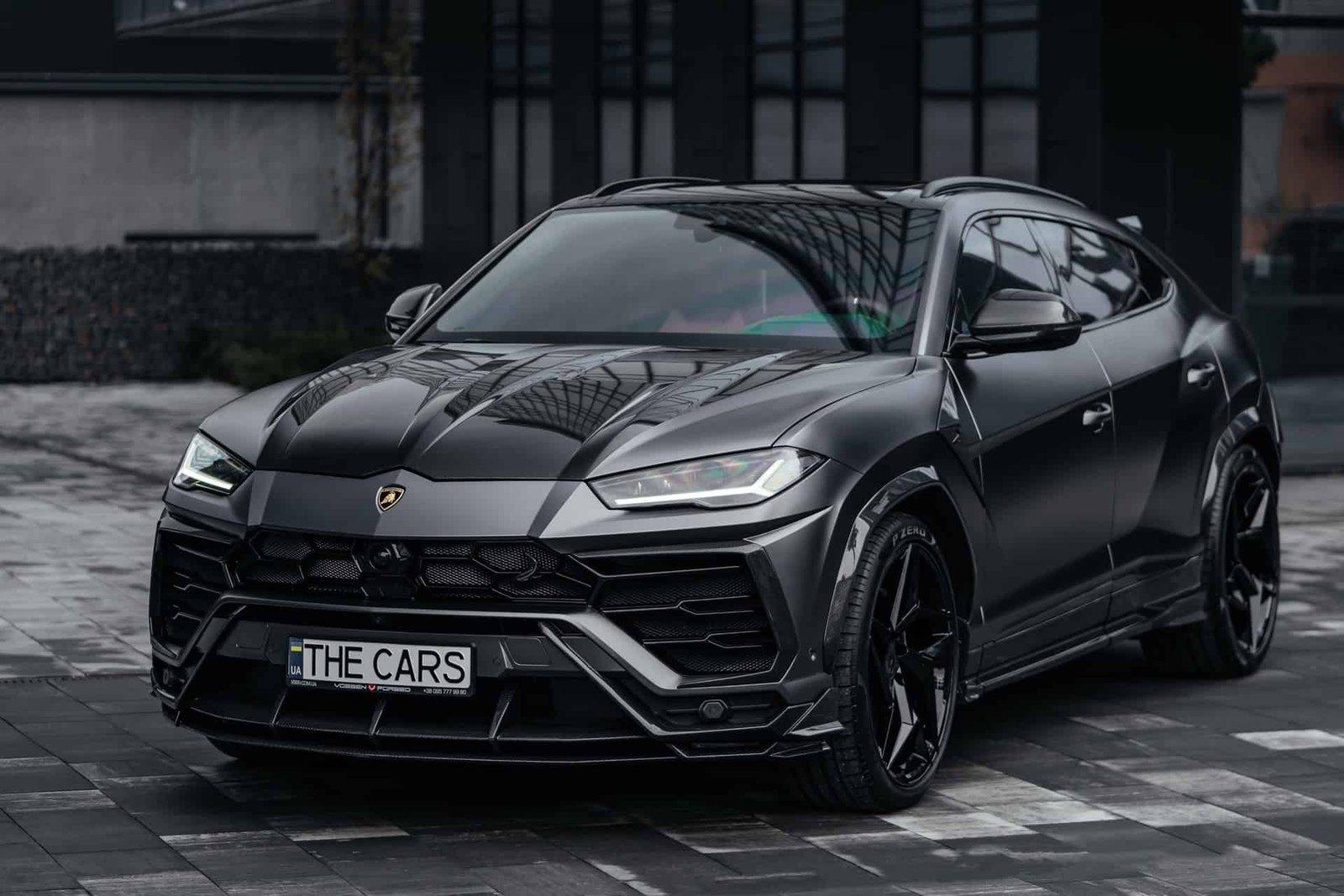 Lamborghini Urus TOPCAR body kit & Stealth Edition Wheels