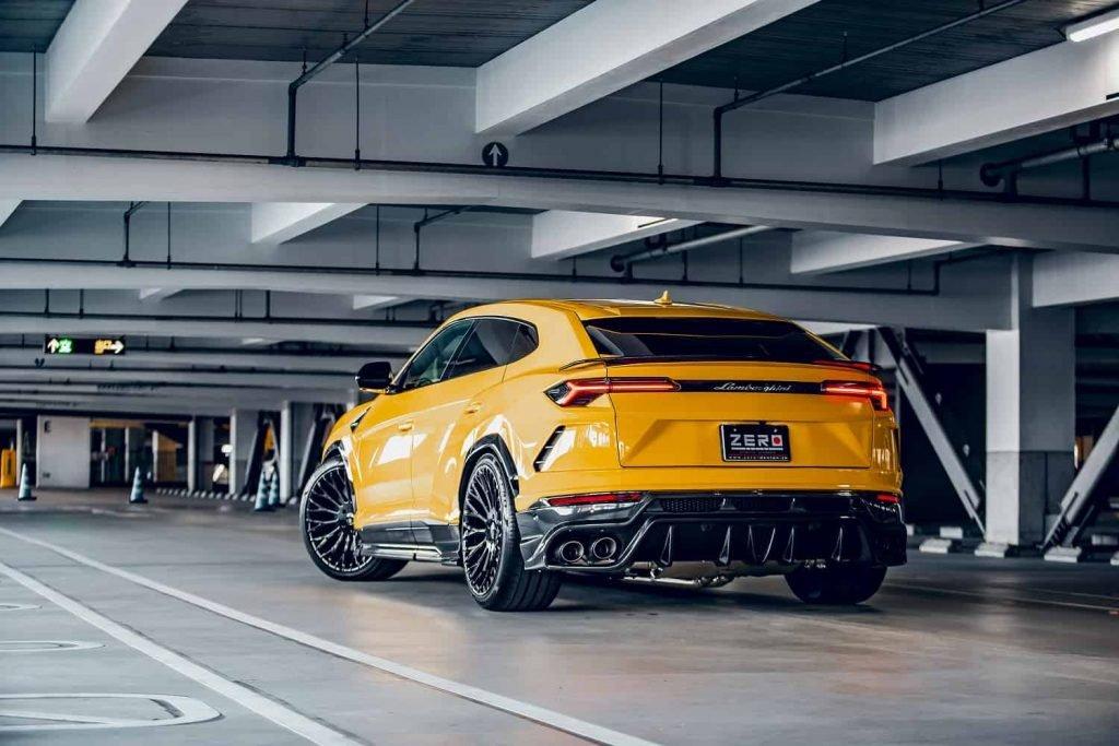 Lamborghini Urus Body Kit Zero Design & Forgiato Wheels