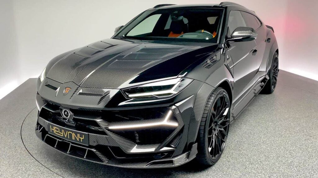 Lamborghini Urus by Keyvany Up to 900 HP!