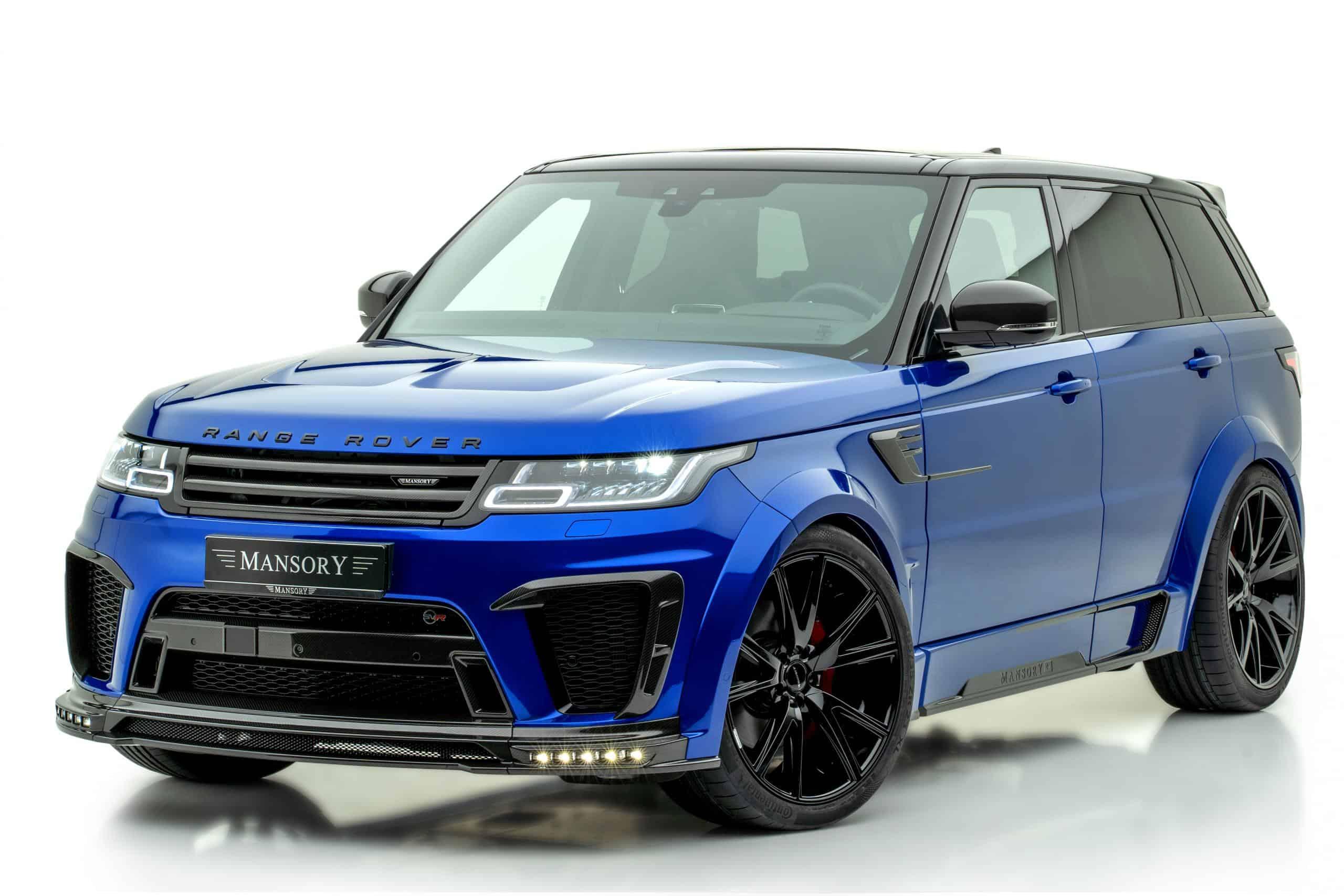 Land Rover Range Rover Sport SVR Mansory Body Kit
