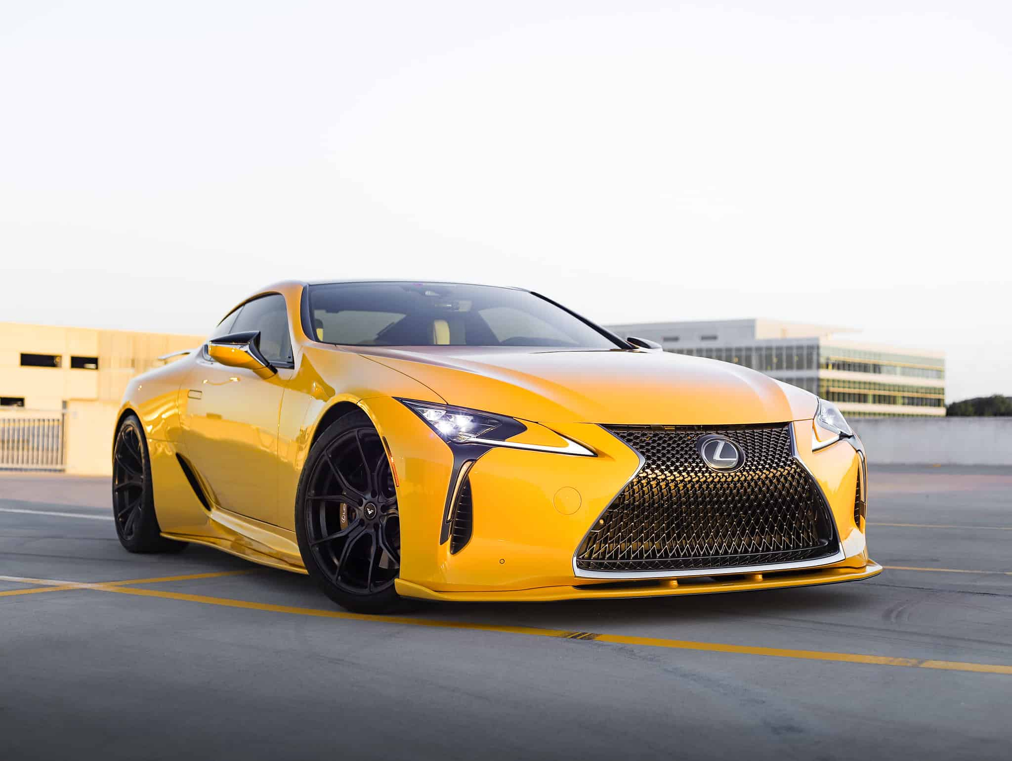 Lexus LC Lexon Body Kit & Vorsteiner Wheels