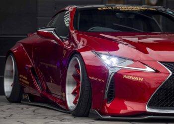 Lexus LC Wide Body Kit by Liberty Walk