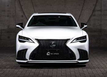 Lexus LS 500 Prussian Blue Body Kit MZ Speed