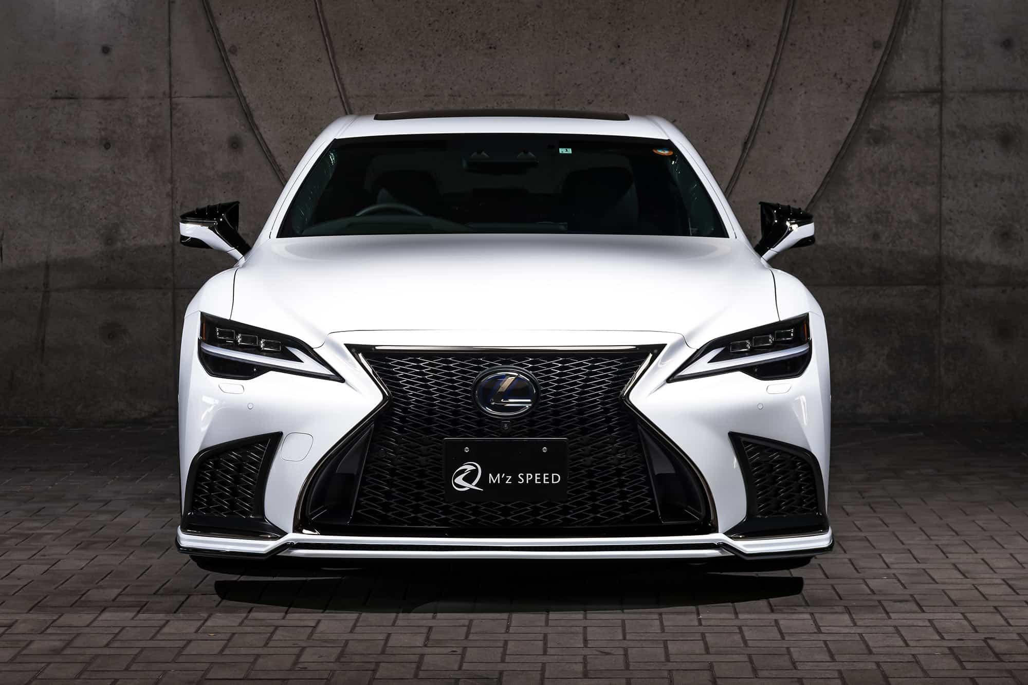 Lexus LS 500 Prussian Blue Body Kit MZ Speed