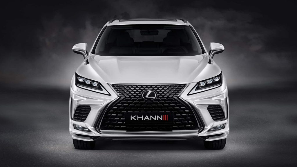 Lexus RX Look Stylish With Help From KHANN