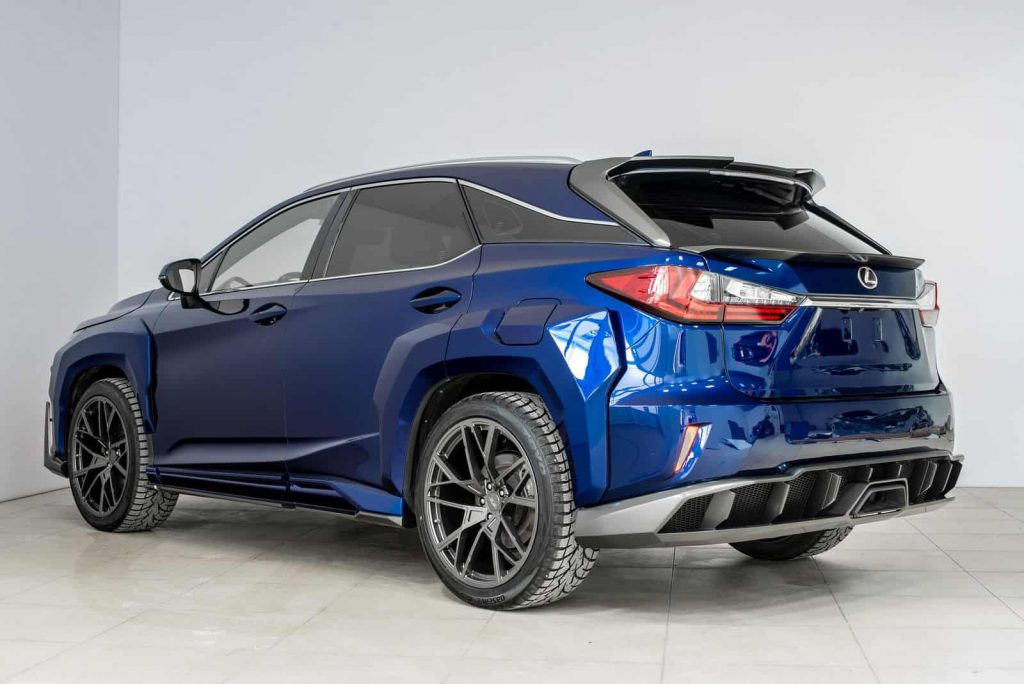 Lexus RX Looks Insane With Widebody Kit