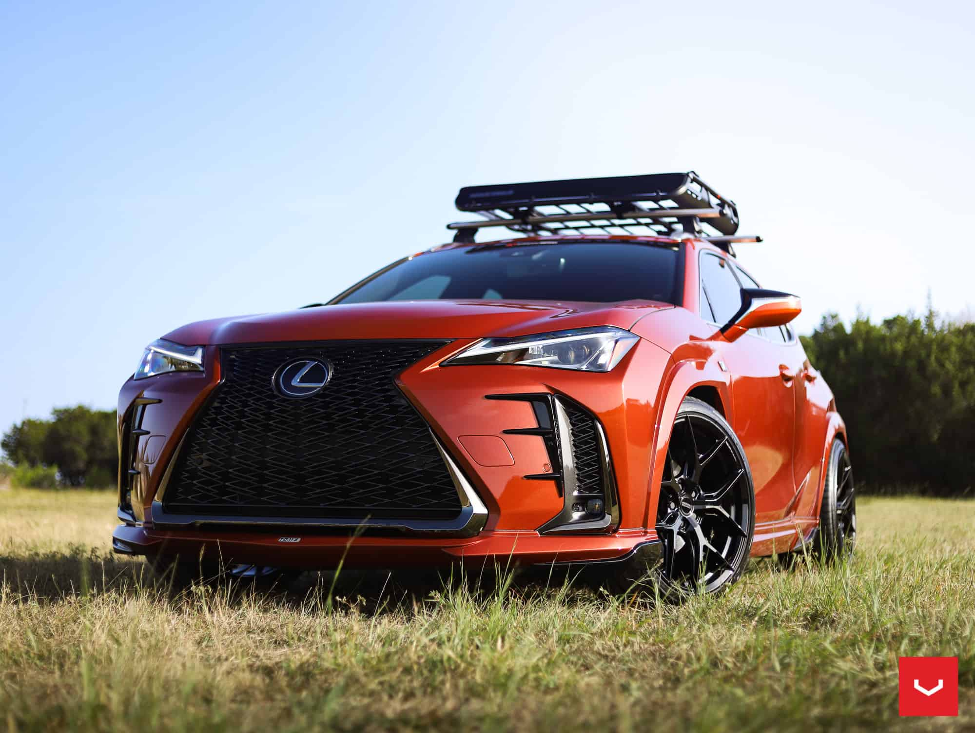 Lexus UX 200 Vossen Wheels & TOMS Racing Body Kit