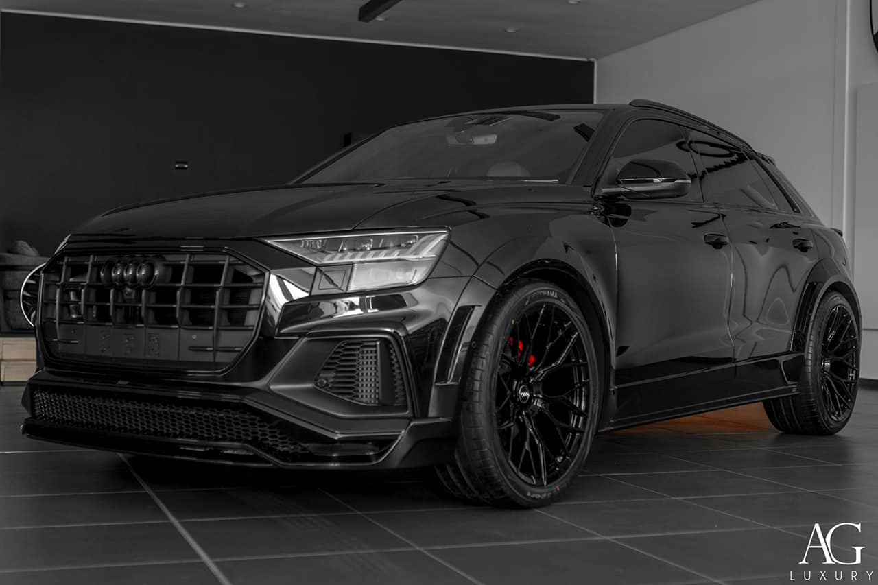 Lumma Design Presents Ultra-Aggressive Audi SQ8