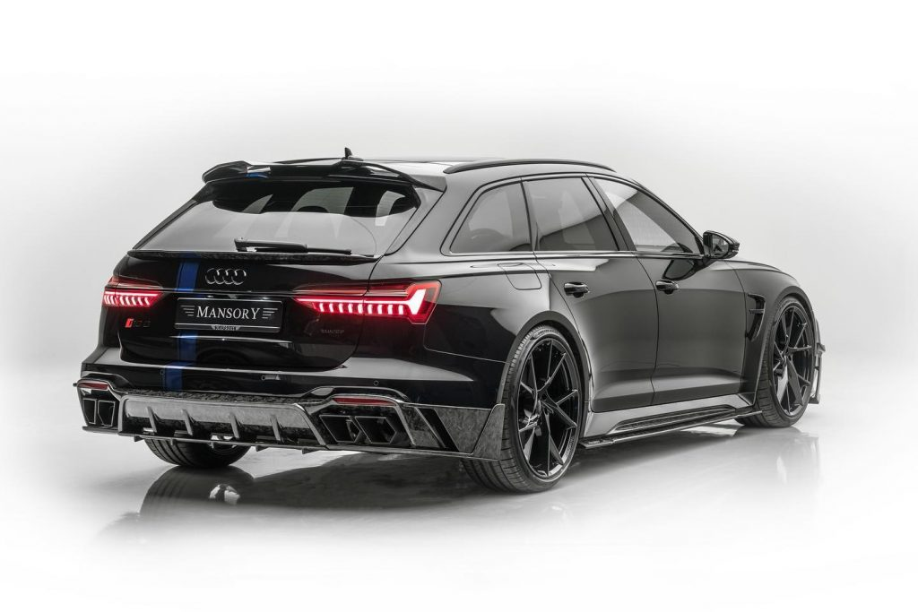 MANSORY Introduced Audi RS6 780hp