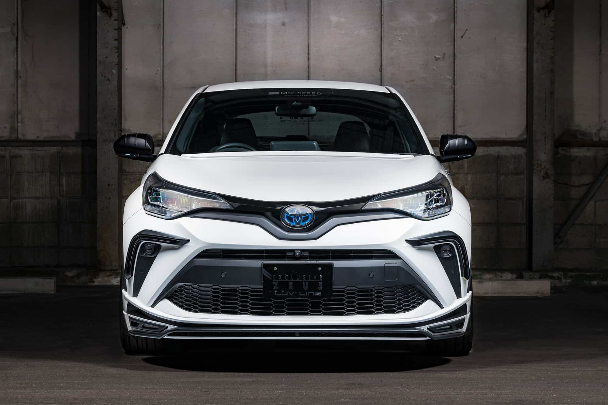 Toyota C-HR body kit includes by MZ Speed