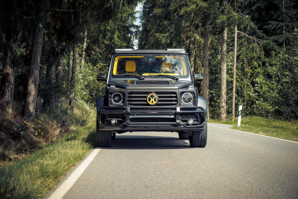 Mercedes G 63 Magno black by MANSORY