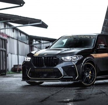 Manhart BMW X5M F95 More Power & Aero Package