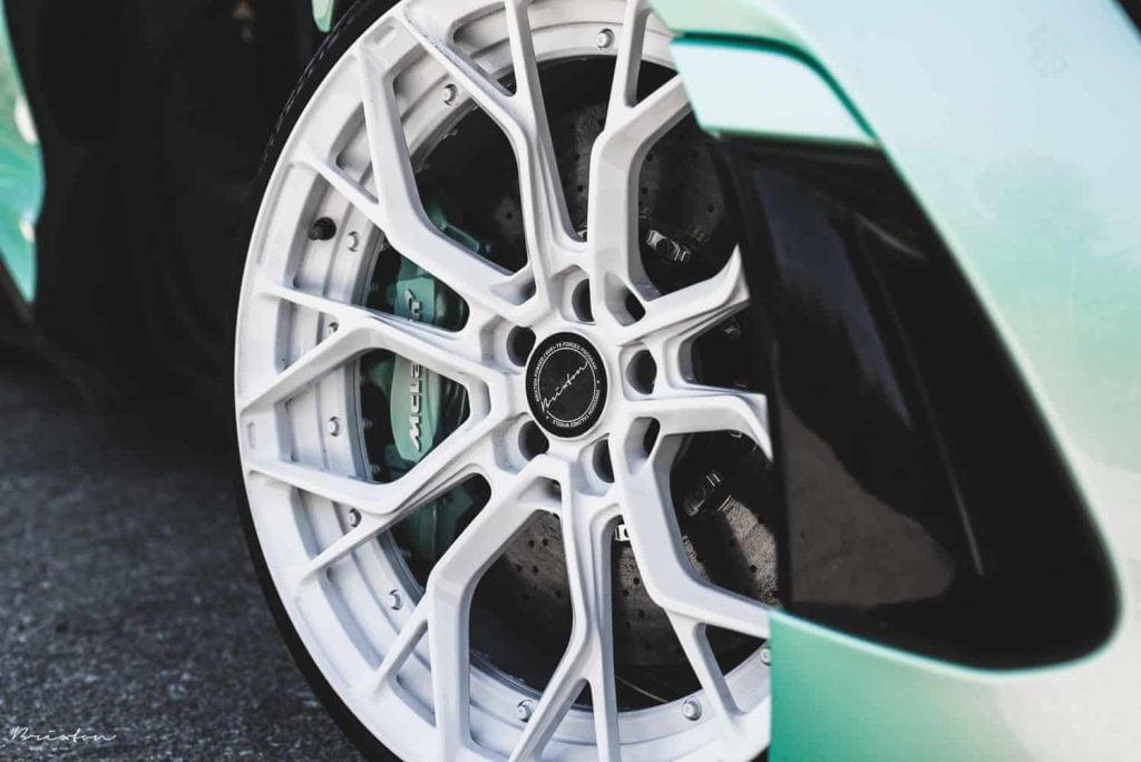McLaren 720S Brixton Forged Wheels & 1016 Industries Carbon Aero Kit