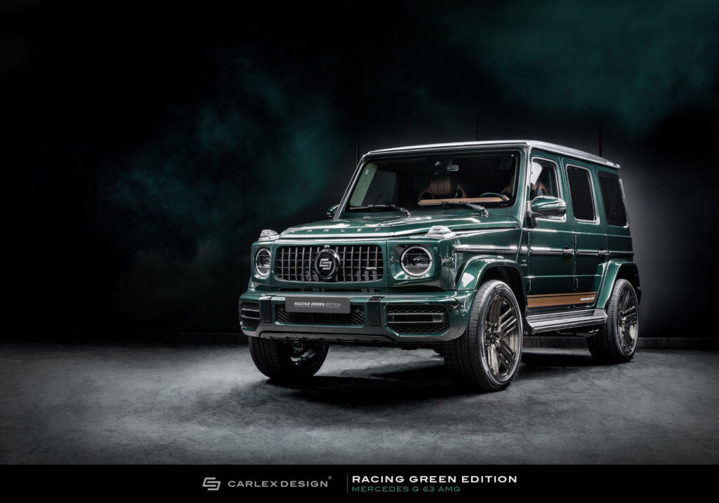 Carlex Design unveils the Mercedes-AMG G63 Racing Green Edition