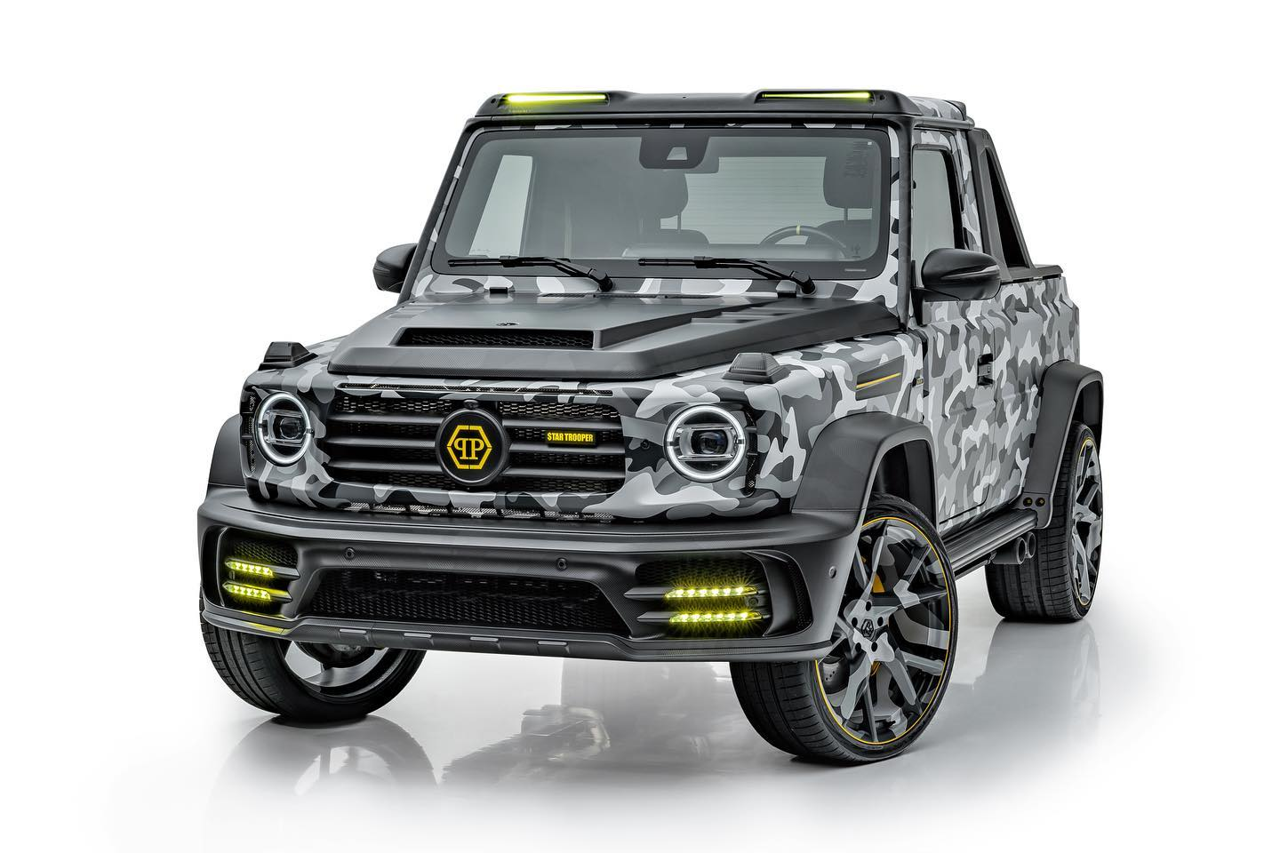 Mercedes-AMG G63 Star Trooper Pickup by Mansory
