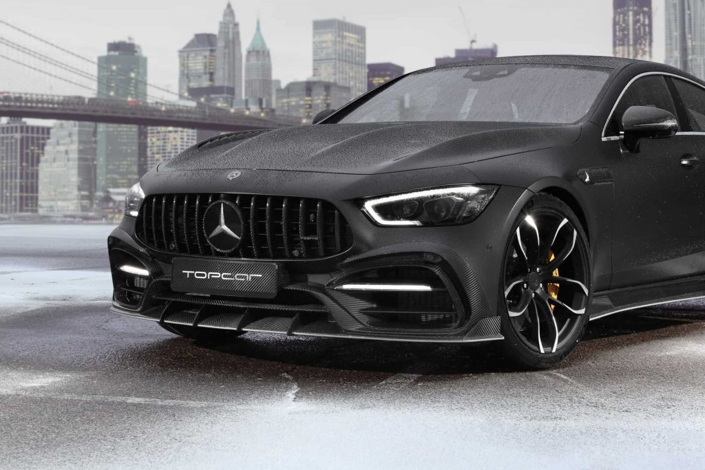 Mercedes-AMG GT 4-door Coupe Tuning Kit TopCar Adds Some Style