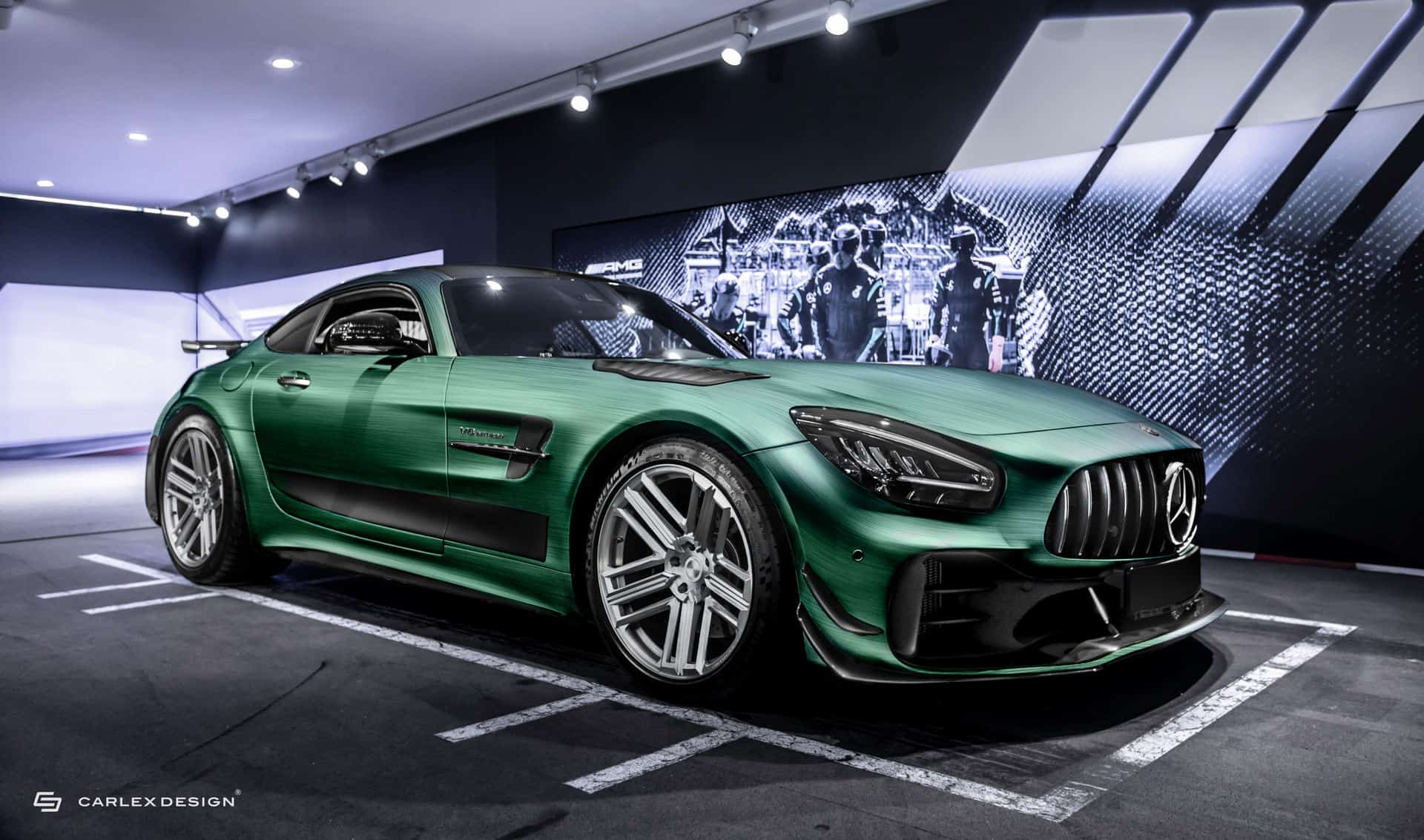 Mercedes AMG GT R PRO Tattoo Edition by Carlex Design