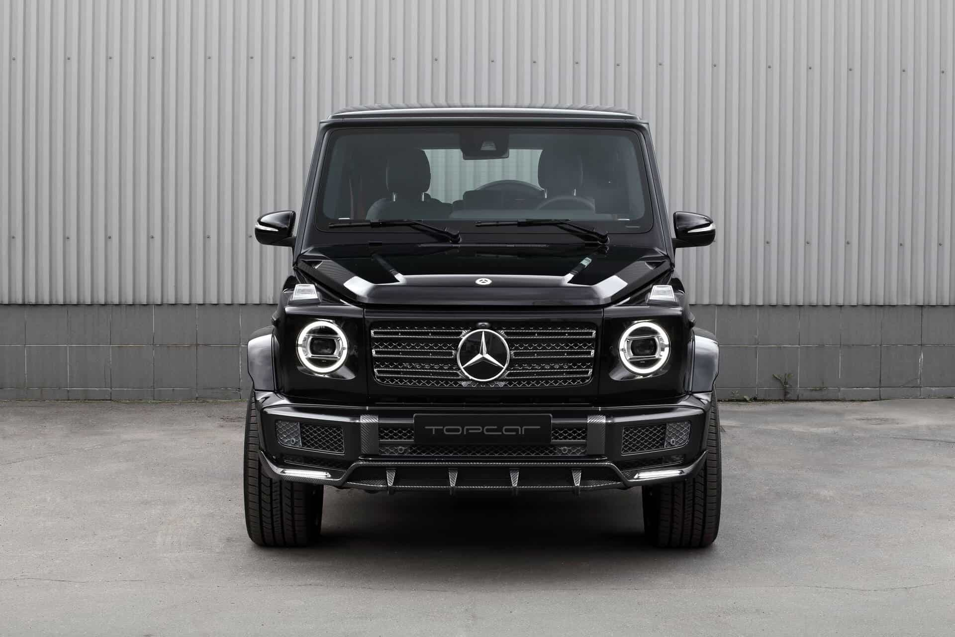 Mercedes-Benz G350D INFERNO Light aero kit TOPCAR Design
