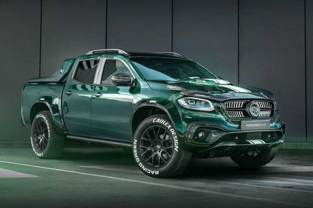 Mercedes-Benz X-class Racing Green Edition by Carlex Design
