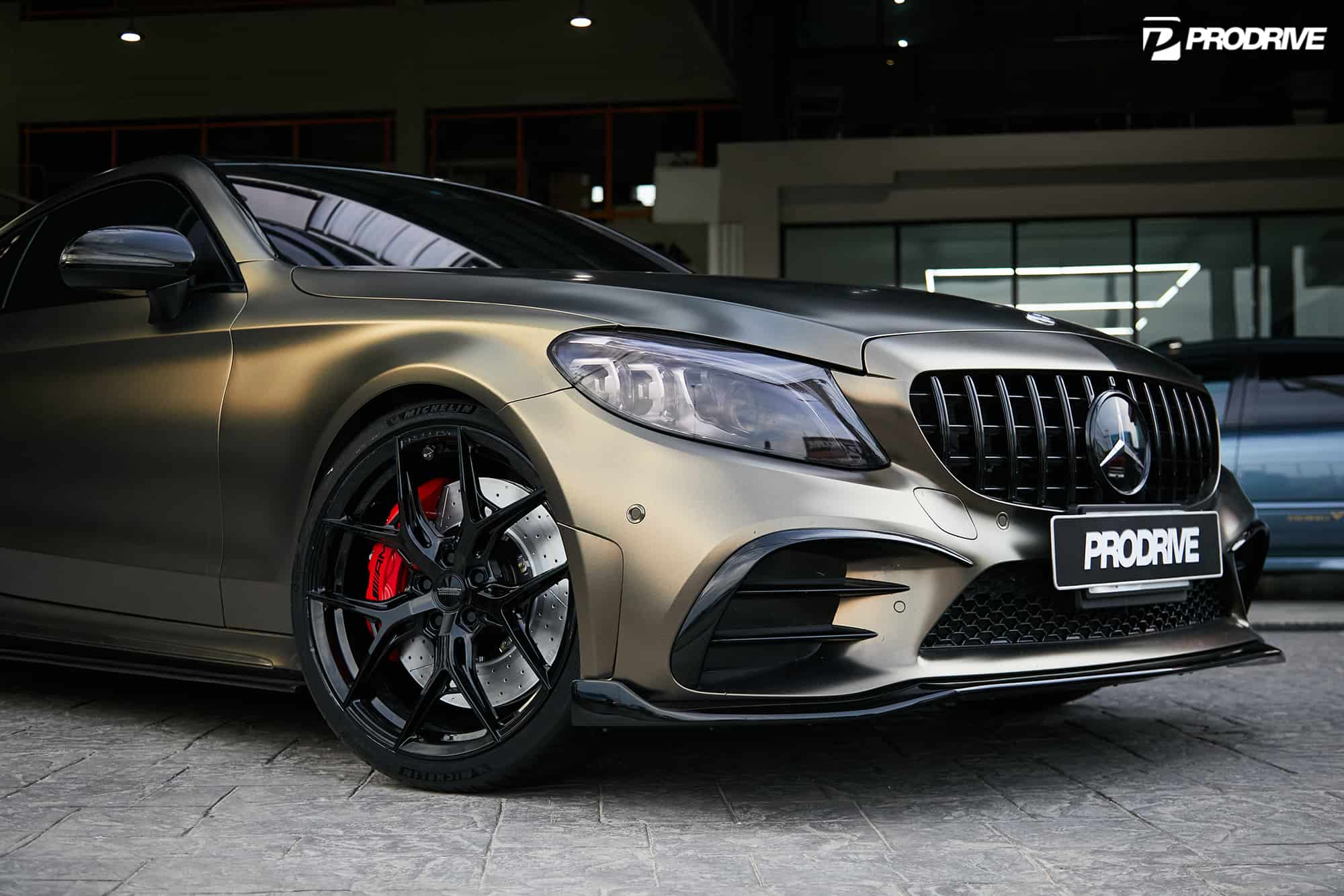 Mercedes C200 Coupe by Prodrive & Vossen Wheels