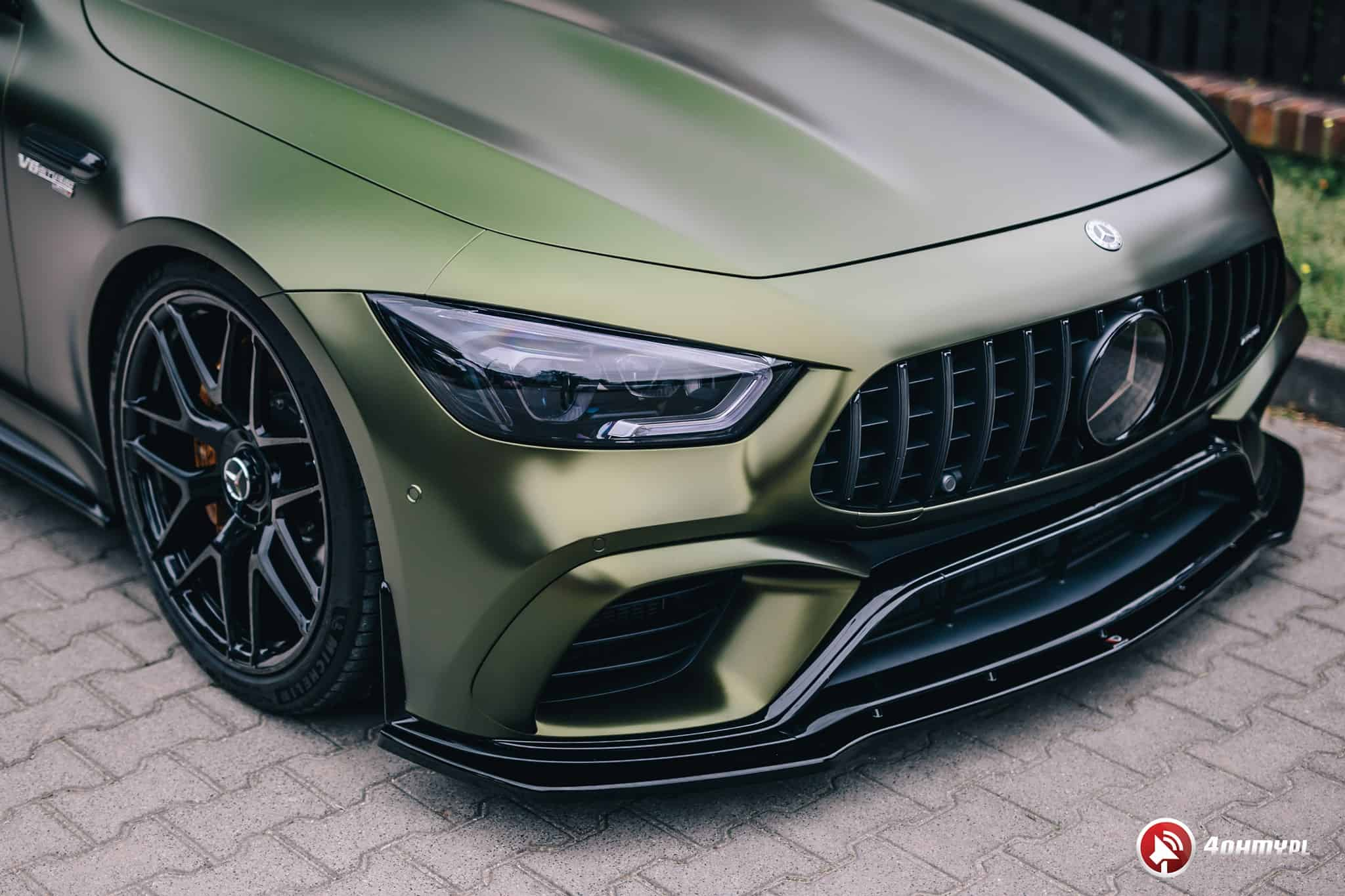 Mercedes AMG GT 63 S Stylish Aero Kit Maxton Design
