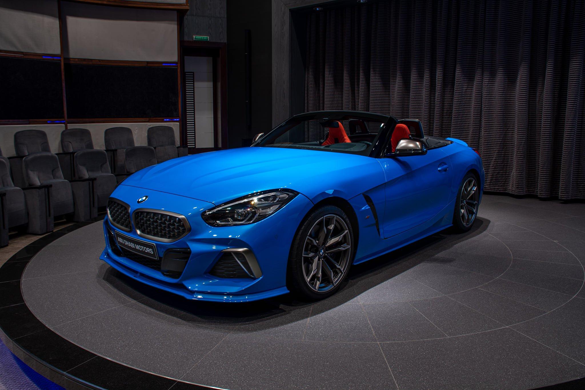 Misano Blue BMW Z4 by AC Schnitzer