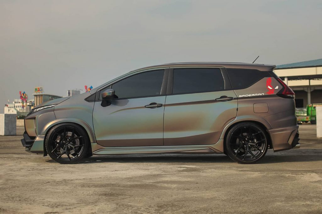 Mitsubishi Xpander With Tithum Body Kit And Vossen Wheels