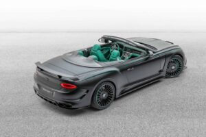 New Bentley Continental GT Convertible V8 by Mansory