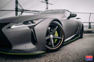 New Lexus LC on Vossen Wheels VWS-3